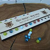 Куклы и игрушки handmade. Livemaster - original item Memory game - Color balls. Handmade.