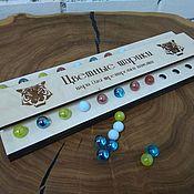 Куклы и игрушки handmade. Livemaster - original item Memory game - Color balls. Handmade.