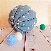 """Куклы и игрушки ручной работы. Ярмарка Мастеров - ручная работа Мячик """"Джинс"""" развивающая игрушка. Handmade."""