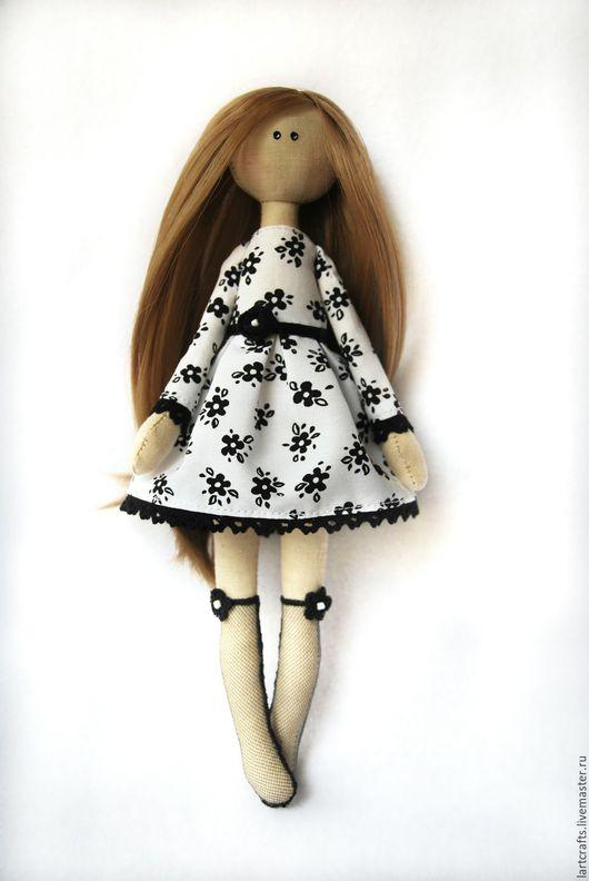 Коллекционные куклы ручной работы. Ярмарка Мастеров - ручная работа. Купить Монохромная нежность. Handmade. Текстильная кукла, весна, кружево
