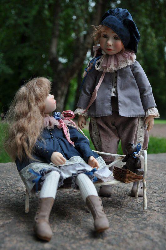 Коллекционные куклы ручной работы. Ярмарка Мастеров - ручная работа. Купить Живущие в сказках.... Handmade. Кукла ручной работы, artdoll