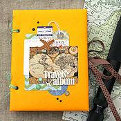 Канцелярские товары handmade. Livemaster - original item Travel album (Travel book). Handmade.