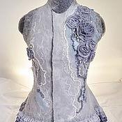 Одежда ручной работы. Ярмарка Мастеров - ручная работа Жилет валяный. Handmade.