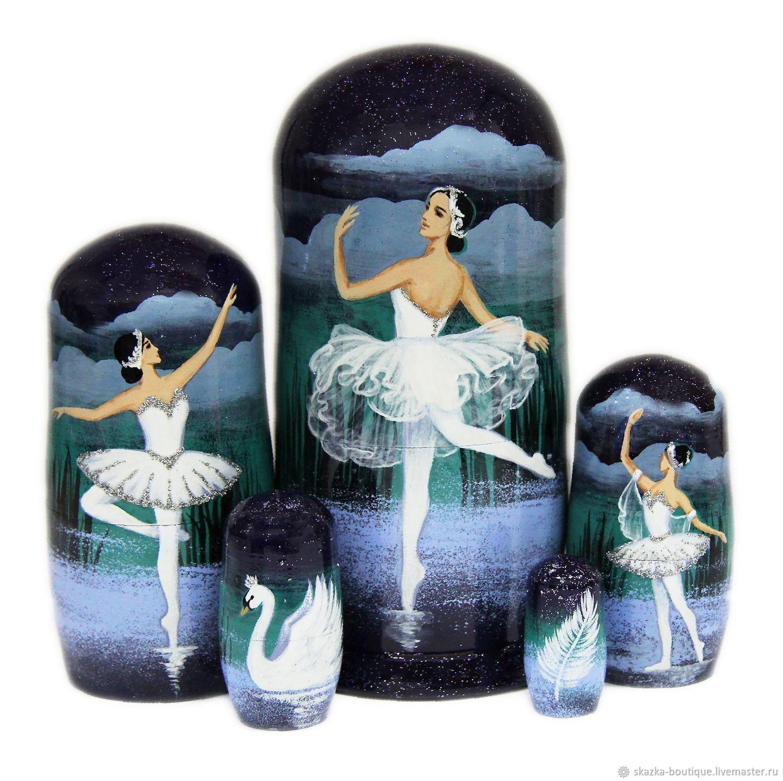 """Матрешка """"Русский балет"""", Народные сувениры, Санкт-Петербург,  Фото №1"""