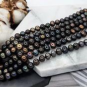 Материалы для творчества handmade. Livemaster - original item 20 PCs. Pearls of nature. 5 x 6-6,5. 5012 mm dark (). Handmade.
