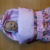 Одежда для кукол ручной работы. Ярмарка Мастеров - ручная работа Конверт для беби бон, анабель и других кукол. Handmade.