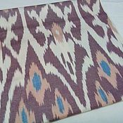 Материалы для творчества handmade. Livemaster - original item Uzbek cotton ikat hand weaving. F034. Handmade.