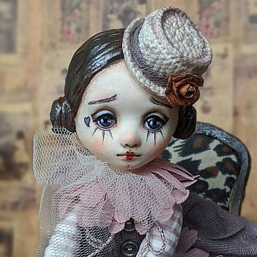 Dolls & toys handmade. Livemaster - original item OOAK Art doll little clown Penny. Handmade.
