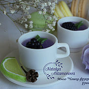 """Мыло """"Чашечка фруктового чая"""" ручной работы"""