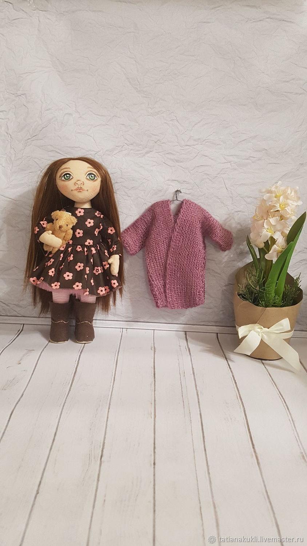 Текстильная, игровая кукла, Портретная кукла, Тольятти,  Фото №1