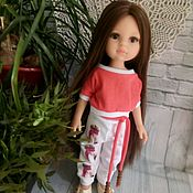 """Одежда для кукол ручной работы. Ярмарка Мастеров - ручная работа Костюмчик """"Фламинго"""" для Паола Рейна. Handmade."""