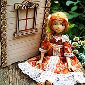 Куклы и игрушки ручной работы. Ярмарка Мастеров - ручная работа Деревянная куколка Огневушка. Handmade.