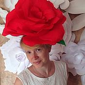 """Аксессуары ручной работы. Ярмарка Мастеров - ручная работа Ободок для волос """"Роза"""". Handmade."""