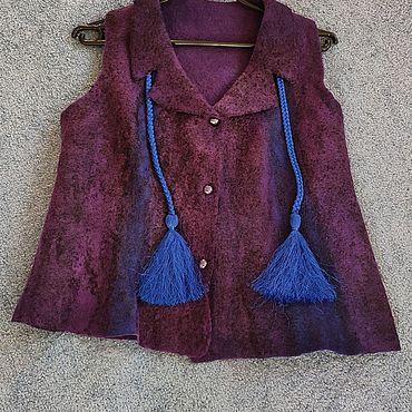 Одежда ручной работы. Ярмарка Мастеров - ручная работа Жилет женский. Handmade.