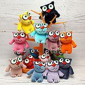 Куклы и игрушки handmade. Livemaster - original item Keychain Alyosha, red kitten, soft toy plush cat. Handmade.