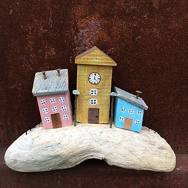 Для дома и интерьера ручной работы. Ярмарка Мастеров - ручная работа Комплекты аксессуаров для дома: Ратуша. Handmade.