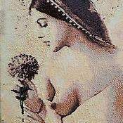 Картины и панно handmade. Livemaster - original item Tapestry beaded. Laura. The painting was created way beerothites.. Handmade.