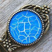 handmade. Livemaster - original item Gifts on February 23: Bookmark Cobweb blue-blue color. Handmade.