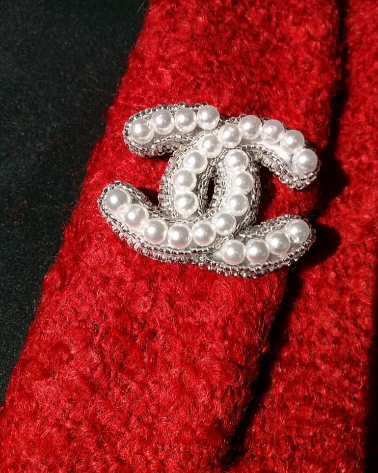 """Брош ручной работы """"Chanel"""", Броши, Пермь, Фото №1"""