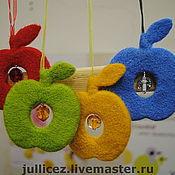 Подарки к праздникам ручной работы. Ярмарка Мастеров - ручная работа шерстяные яблочки. Handmade.