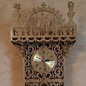 Для дома и интерьера ручной работы. Ярмарка Мастеров - ручная работа Настенные часы с маятником. Handmade.