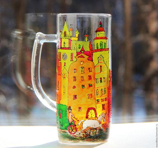 Пивная кружка Городок сказок Андерсена