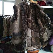 Одежда handmade. Livemaster - original item A top of the Tuscan sheepskin 50-52. Handmade.