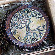 Украшения ручной работы. Ярмарка Мастеров - ручная работа Карманные стимпанк часы. Handmade.