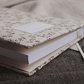 Канцелярские товары handmade. Livemaster - original item Notepad with fabric cover / A5 / Sketchbook / Diary. Handmade.