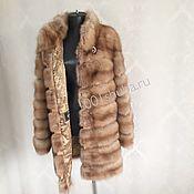 Одежда handmade. Livemaster - original item Cover the Marten fur coats. Handmade.
