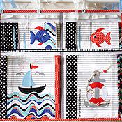 Для дома и интерьера ручной работы. Ярмарка Мастеров - ручная работа Кармашки в детскую комнату для мальчика. Handmade.