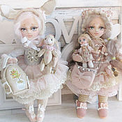 Куклы и игрушки handmade. Livemaster - original item Sweet girls. Baby dolls.. Handmade.
