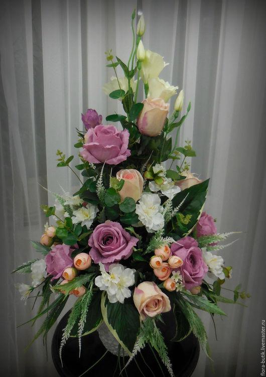 Интерьерные композиции ручной работы. Ярмарка Мастеров - ручная работа. Купить Пепел розы. Handmade. Комбинированный, роза