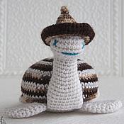 Куклы и игрушки ручной работы. Ярмарка Мастеров - ручная работа Вязаная игрушка черепаха Шоколадная. Handmade.