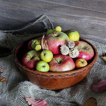 Посуда ручной работы. Ярмарка Мастеров - ручная работа Керамический салатник.Миска для овощей и фруктов.. Handmade.