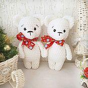 Куклы и игрушки handmade. Livemaster - original item Knitted toy bear plush stuffed bear. Handmade.