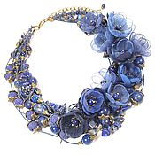 Украшения handmade. Livemaster - original item Sleepy Valley Flowers. Necklace, flowers. Handmade.