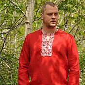 Русский стиль ручной работы. Ярмарка Мастеров - ручная работа Рубахи, разные. Handmade.