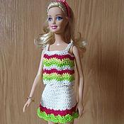 Куклы и игрушки ручной работы. Ярмарка Мастеров - ручная работа Яркий летний комплект. Handmade.