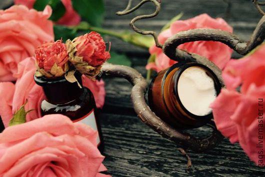 """Крем, гель, сыворотка ручной работы. Ярмарка Мастеров - ручная работа. Купить Крем Для Век """" Вечерняя Роза"""". Handmade."""