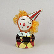 """Сувениры и подарки ручной работы. Ярмарка Мастеров - ручная работа """"Рыжий клоун"""", колокольчик. Handmade."""