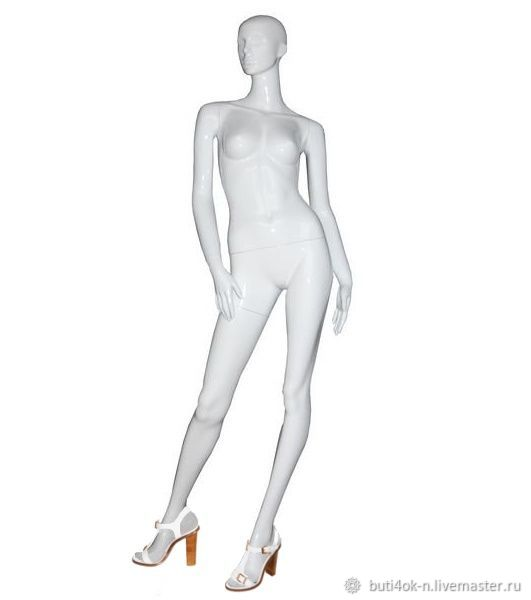 Stylish strappy sandals made of genuine leather white color, Slingbacks, Nelidovo, Фото №1