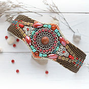 Украшения handmade. Livemaster - original item Bracelet Eseniya. Handmade.