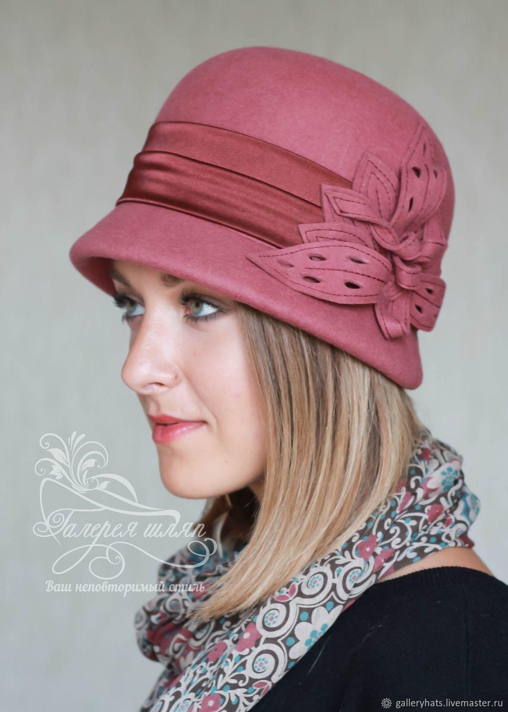 Шляпа-клош  Париж, Шляпы, Челябинск, Фото №1