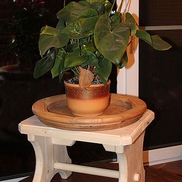 """Мебель ручной работы. Ярмарка Мастеров - ручная работа Табурет-подставка """"Крепыш"""".. Handmade."""