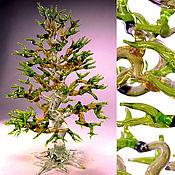 Для дома и интерьера ручной работы. Ярмарка Мастеров - ручная работа Интерьерная скульптура из цветного стекла Мировое дерево. Handmade.
