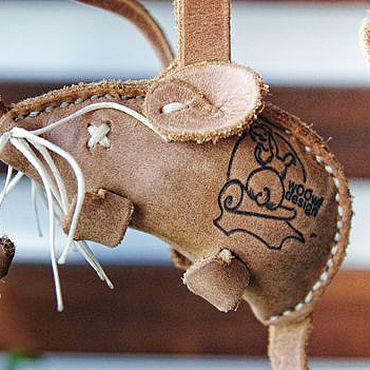 Товары для питомцев ручной работы. Ярмарка Мастеров - ручная работа Мышки для любимой кошки. Белая.. Handmade.