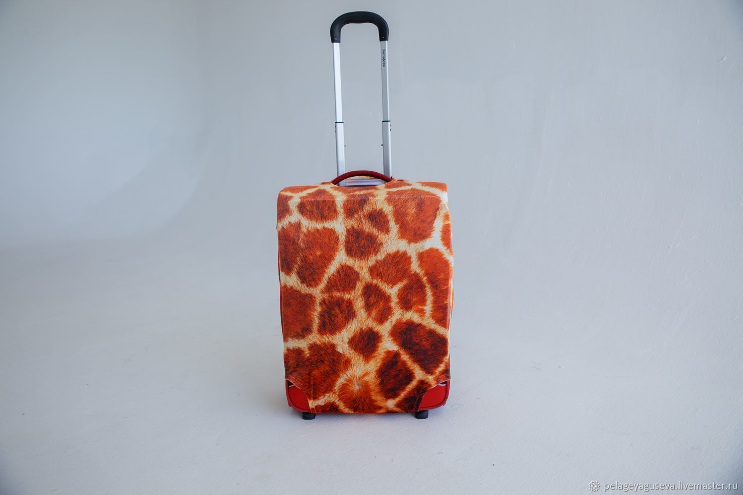 "Luggage cover ""Giraffe skin"", Case, Moscow,  Фото №1"