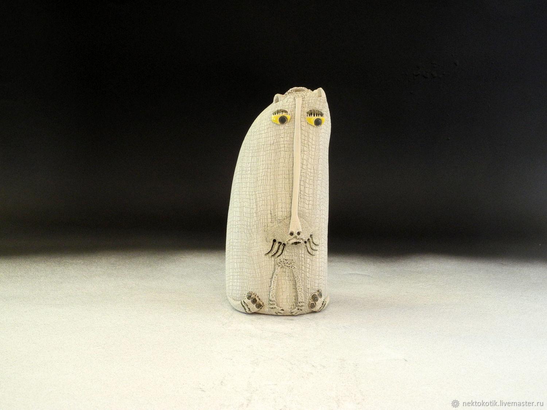 Духовые инструменты ручной работы. Ярмарка Мастеров - ручная работа. Купить Керамическая свистулька-окаринка «Котик». Handmade. Керамика, котик