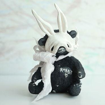 Куклы и игрушки ручной работы. Ярмарка Мастеров - ручная работа Мишка тедди Зайка. Handmade.